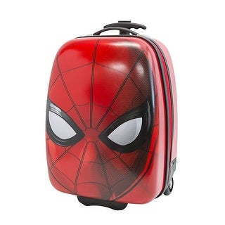 Marvel Spiderman Hard Shell Rolling Backpack Luggage