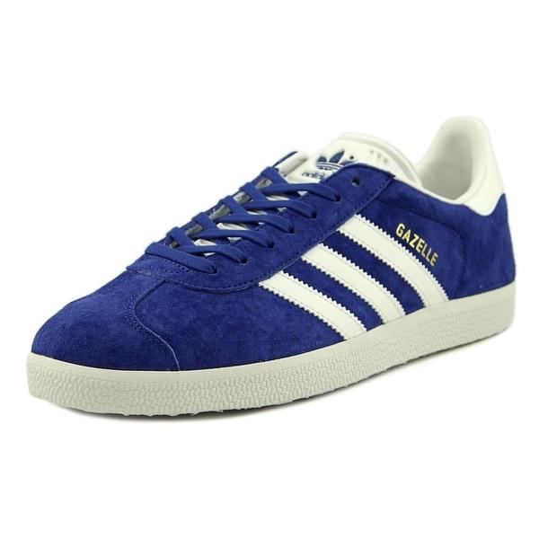 Adidas Gazelle   Round Toe Leather  Sneakers