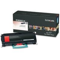 Lexmark E360H21A Lexmark High Yield Black Toner Cartridge - Black - Laser - 9000 Page - 1 Each