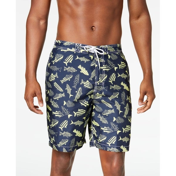 7ef9cc0711 Shop Trunks Surf Swim Co. Blue Mens Medium M Fish Printed Board Shorts - On  Sale - Free Shipping On Orders Over $45 - Overstock - 28131542