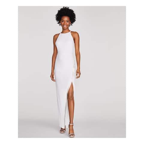 BCX Ivory Spaghetti Strap Full-Length Dress XXS
