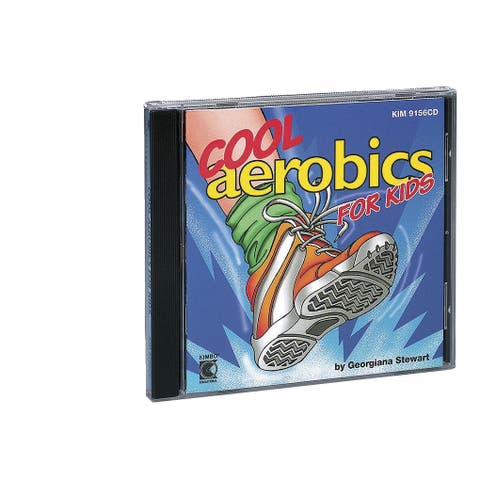 Kimbo Educational Cool Aerobics For Kids CD, Ages 2 and Up