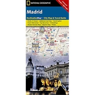 Universal Map 17270 Madrid Destination City Map