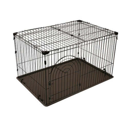 Large Wire Dog Cage