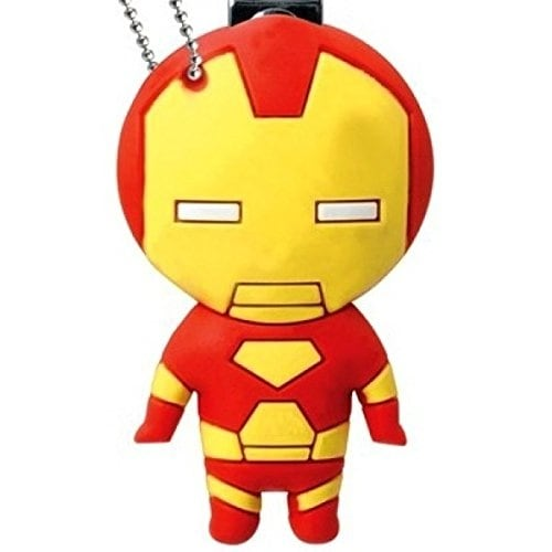 Marvel Soft Touch Nail Clipper Key Ring Iron Man - Multi