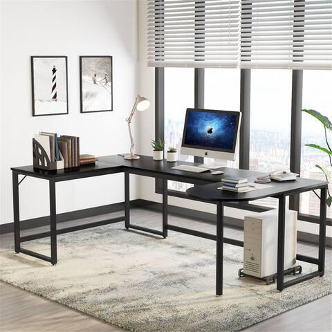 U Shaped Desk, L-Shaped Desk Corner Computer Office Desk