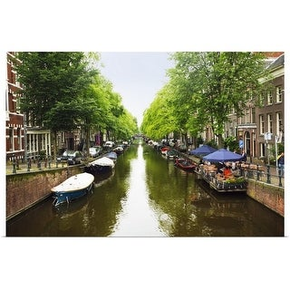 """""""Amsterdam Canal"""" Poster Print"""