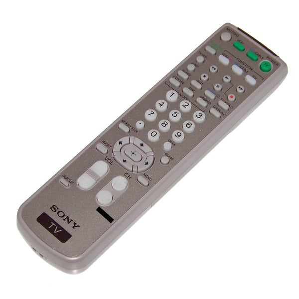 OEM Sony Remote Control Originally Shipped With: KD34XS955, KD-34XS955, KD34XS955N, KD-34XS955N, KD36XS955, KD-36XS955