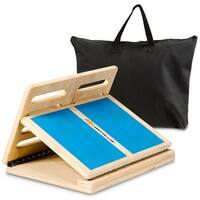 Shop Wooden Incline Board With 5 To 25 Degree Elevation 14 X 18