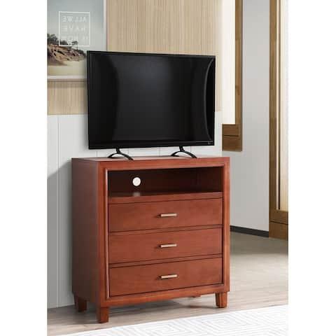 Darden 3-drawer Wooden Entertainment Center