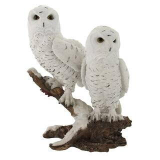 Pair of Snow Owls on a Branch Statue - White https://ak1.ostkcdn.com/images/products/is/images/direct/562d0b0148c78ee52a3599b9c764ddc42e629a69/Pair-of-Snow-Owls-on-a-Branch-Statue.jpg?impolicy=medium
