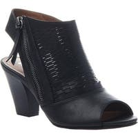 Madeline Women's Wishes Open Toe Shootie Black Synthetic