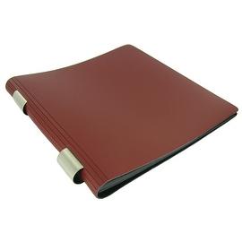 Prat Paris Pampa Roll'In Red Leather Scrapbook
