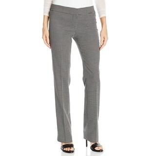 Nine West NEW Black White Women's Size 2 Grid-Print Dress Pants