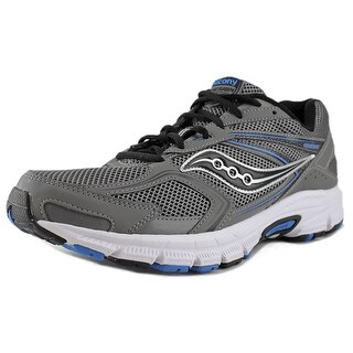 Saucony Grid Cohesion 9 Men Round Toe Synthetic Gray Sneakers