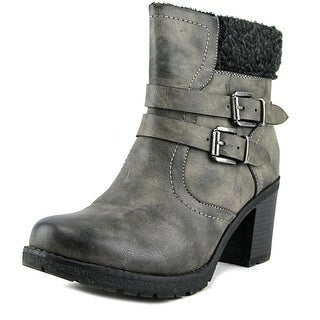 Wanderlust Meghan Round Toe Leather Ankle Boot