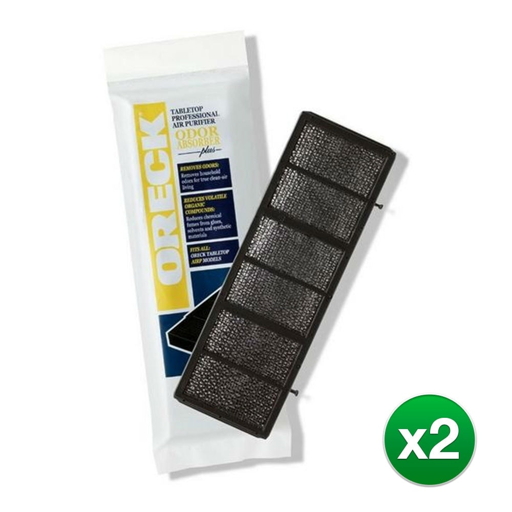 Oreck 2 Pack of Genuine OEM Tabletop AIRP Purifier Air Filters # AP1PKP-2PK
