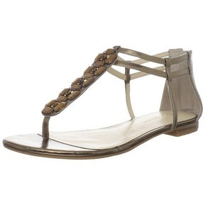 Enzo Angiolini Womens Trillium Split Toe Casual T-Strap Sandals