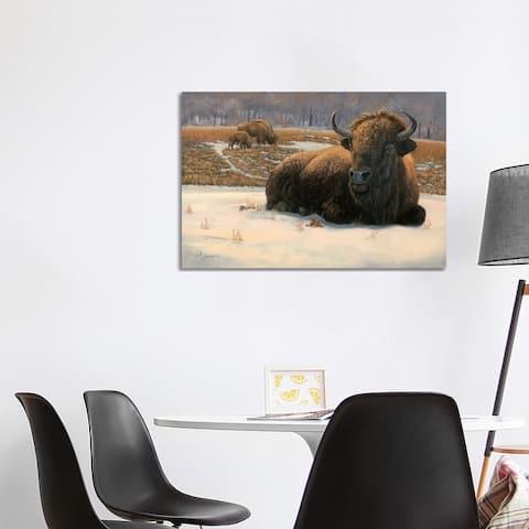 """iCanvas """"Winter Break"""" by Rod Bailey Canvas Print"""