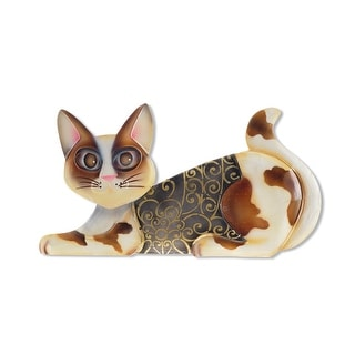 Link to Handmade Cat Lying Down Wall Decor (Philippines) - 1 x 14 x 8 Similar Items in Decorative Accessories