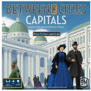 Between Two Cities: Capitals Strategy Board Game