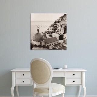 Easy Art Prints Alan Blaustein's 'Positano Vista' Premium Canvas Art