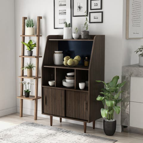 Furniture of America Mellix Contemporary Brown Buffet