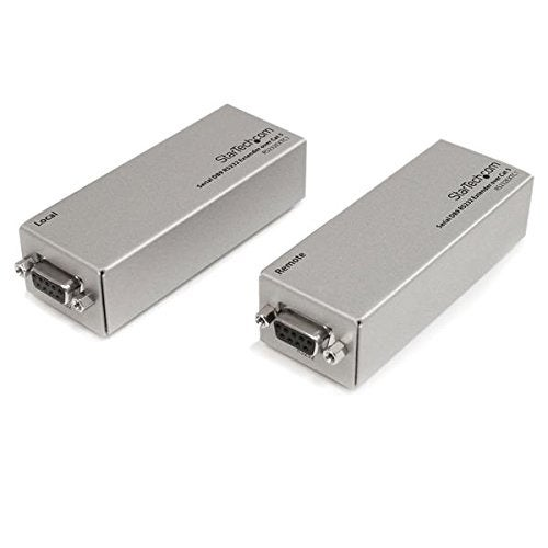 Startech Rs232extc1 Serial Db9 Rs232 Extender Over Cat 5 - Up To 3300 Ft(1000M)