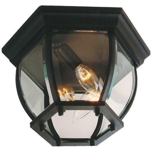 Craftmade Z433 Three Light Down Lighting Medium Outdoor Flush Mount Ceiling Fixture