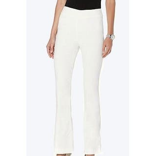 Marla Wynne NEW White Ivory Women Size 20W Plus Pull-On Boot Dress Pants|https://ak1.ostkcdn.com/images/products/is/images/direct/563818079d2fa98e5f834124b30d00253f5b318f/Marla-Wynne-NEW-White-Ivory-Women-Size-20W-Plus-Pull-On-Boot-Dress-Pants.jpg?impolicy=medium