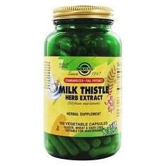 Solgar - SFP Milk Thistle Herb Extract Vegetable Capsules - 150