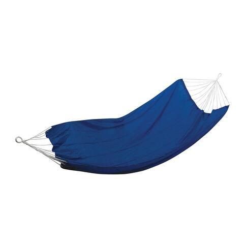 "Stansport Packable Malibu Nylon Hammock - Royal Blue - Royal Blue - 86"" L x 55.25"" W x 0.5"" H"