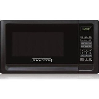 Midea Kitchen Appliance B&D .7Cf Microwave Black