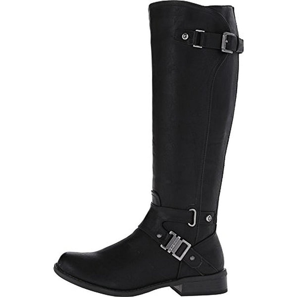 G by Guess Womens Herly Closed Toe Knee High Fashion Boots