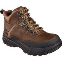 Skechers Men's Relaxed Fit Holdren Brenton Boot Dark Brown