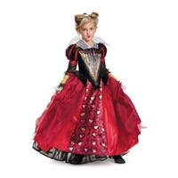 Disguise Red Queen Deluxe Child Costume - Red/black