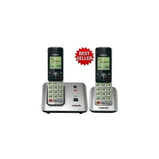 Vtech CS6619-2 Cordless Phone with Accessory Handset & Backlit LCD Display