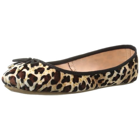 55a504bda LFL by Lust for Life Womens LL-Tinker Fabric Closed Toe Ballet Flats