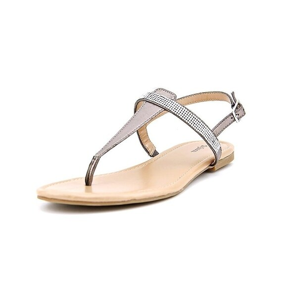 Style & Co. Womens TWISHA Open Toe Casual T-Strap Sandals