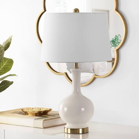"Safavieh Lighting 26-inch Bowie Ceramic Table Lamp - 15"" x 15"" x 26"""
