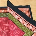 Beautiful Handmade 100% Cotton Calico Print Tablecloth Rectangle Square Round Napkins - Thumbnail 5
