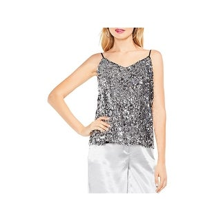 Vince Camuto Womens Camisole Top Sequined Special Occasion