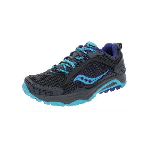 Saucony Womens Grid Excursion TR9 Trail Running Shoes Mesh Contrast Trim