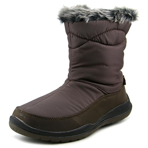 Kamik Strasbourg Women Round Toe Synthetic Brown Snow Boot