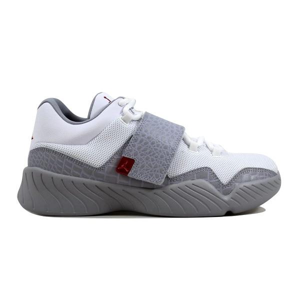 d60bcbac2b0b54 Shop Nike Men s Air Jordan J23 White Gym Red-Wolf Grey 854557-102 ...