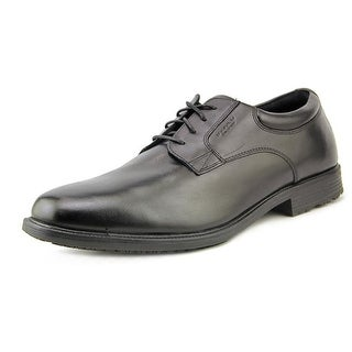 Rockport Esntial DTL WP Wing Men Round Toe Leather Black Oxford