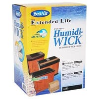 """BestAir ALL3 Universal Humidifier Wick Filter, 6-1/4"""" x 11"""" x 4-1/2"""""""