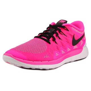 Nike Free 5.0 Round Toe Synthetic Sneakers