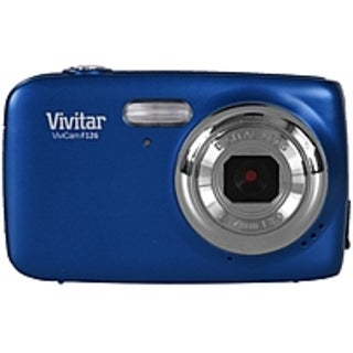 Vivitar ViviCam VF126-BLU-INT 14.0 Megapixel Digital Camera - 4x (Refurbished)