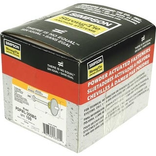 """Simpson Strong-Tie 2-7/8"""" Galv Pin W/Washer PDPAWL-287MG Unit: EACH Contains 10 per case"""